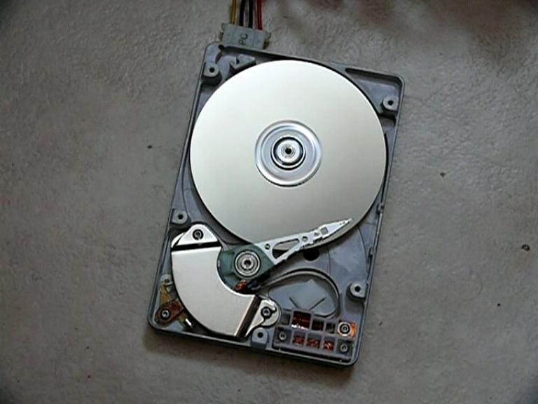harddisk มีเสียง
