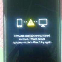 รับแก้ Firmware upgrade encountered an issue ใน Samsung ทุกรุ่น
