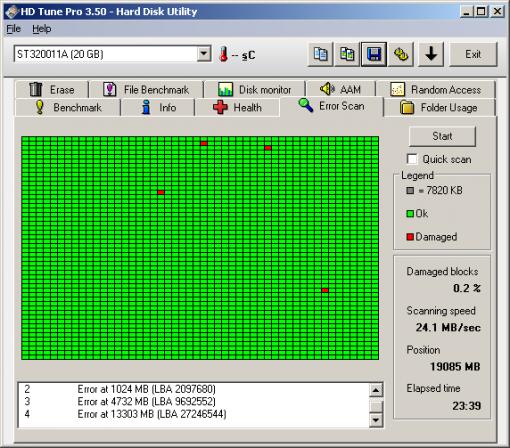 ให้ format harddisk