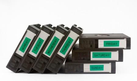 กู้ข้อมูล tape backup